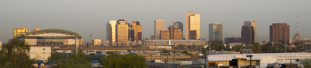 skyline of Phoenix Arizona